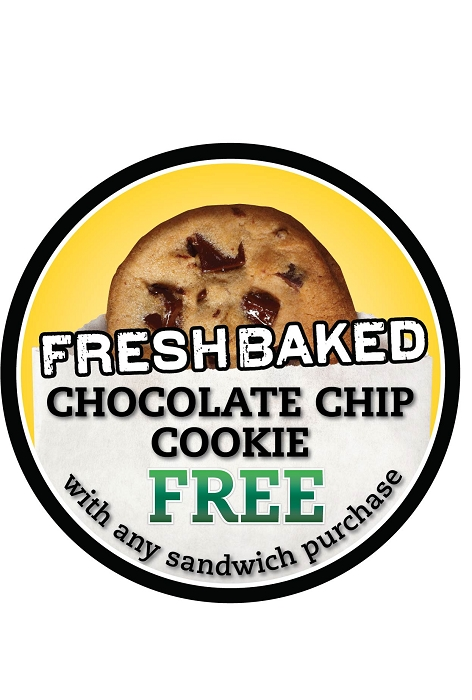 Free Cookie Sign