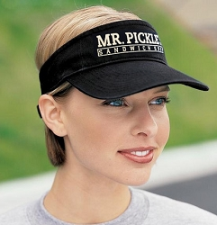 Mr Pickle's Logo Visor