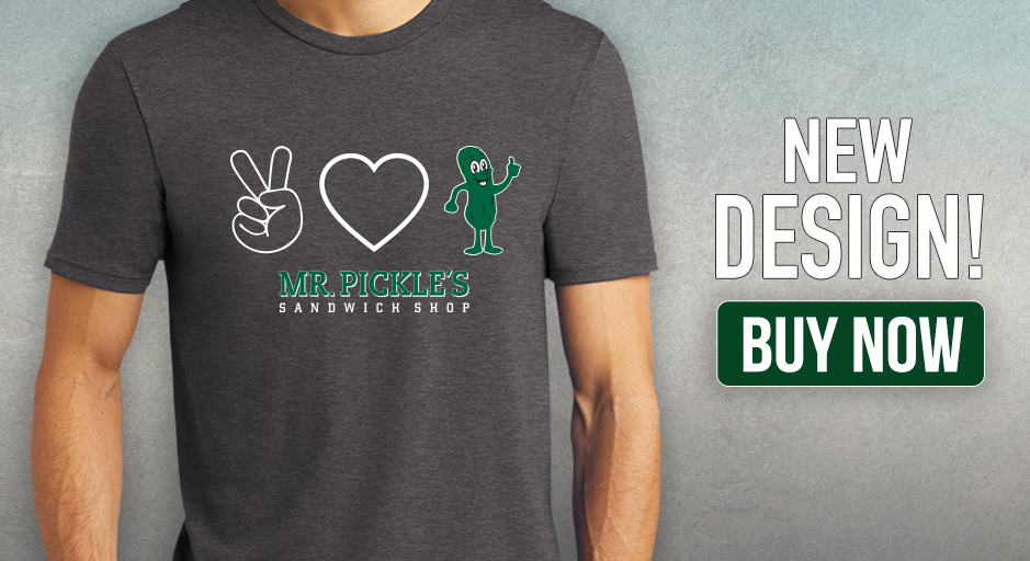 Peace Love Pickle T-shirt